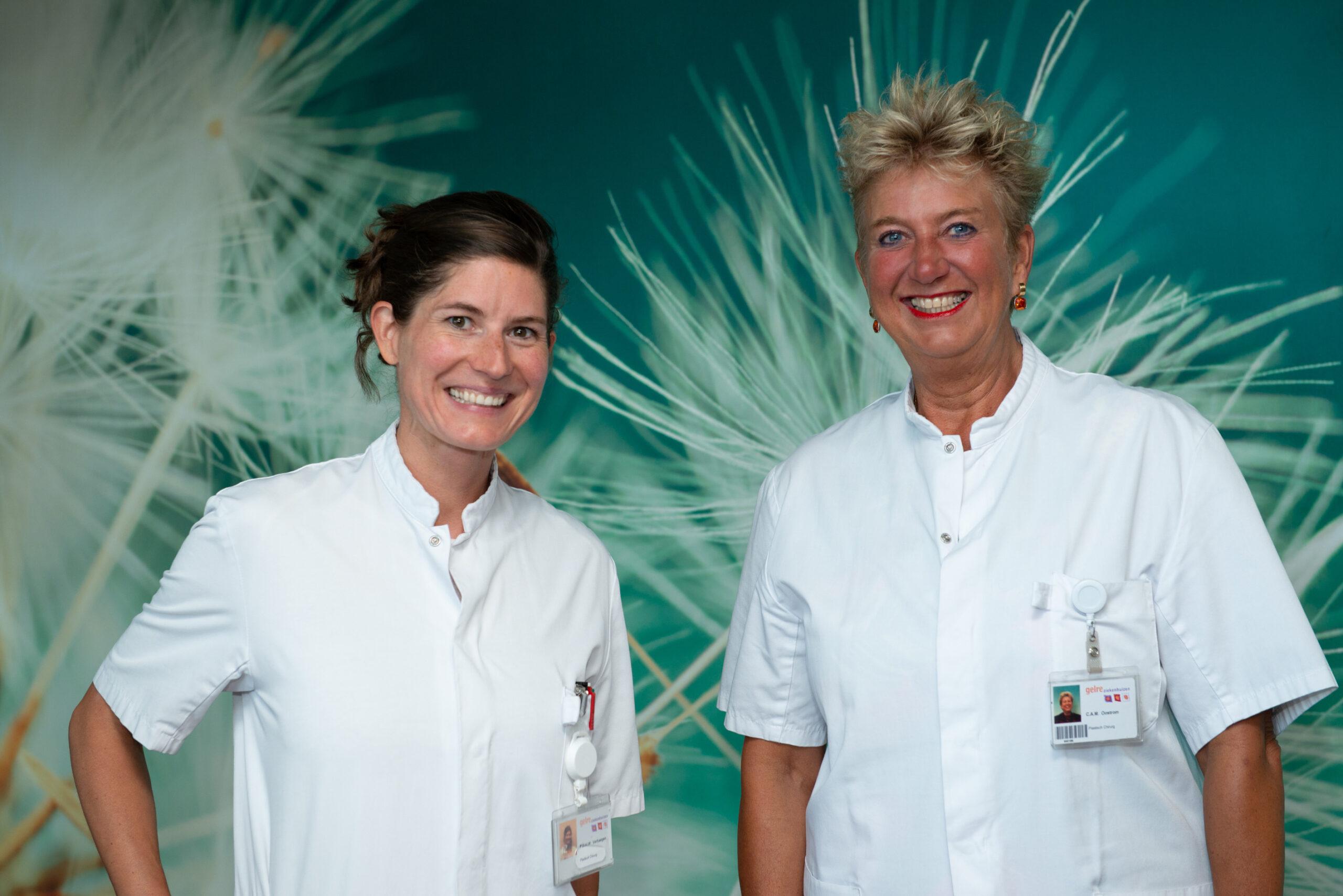 Dokter Pauline Verhaegen (links) en dokter Karine Oostrom (rechts)
